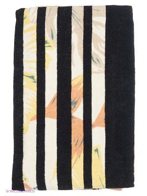 Полотенце BILLABONG. Цвет: светло-желтый, черный