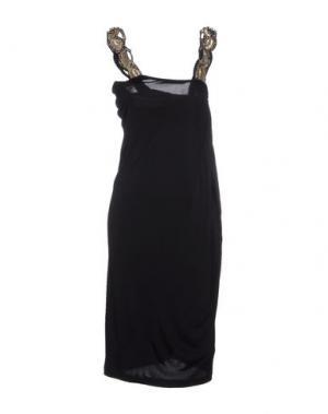 Платье до колена SOPHIA KOKOSALAKI. Цвет: черный