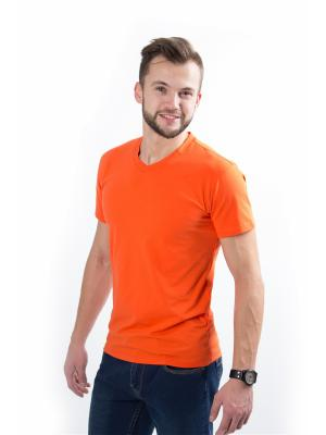 Футболка ISEE. Цвет: оранжевый