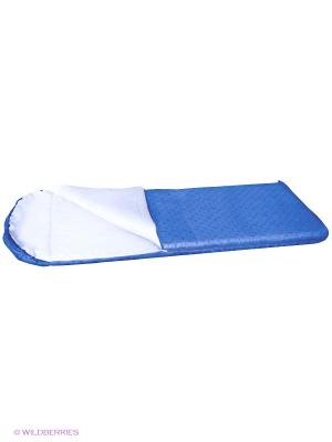 Спальный мешок-одеяло Nova tour. Цвет: темно-синий