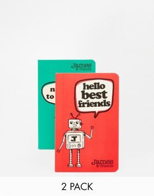 James & Friends Записные книжки. Цвет: мульти