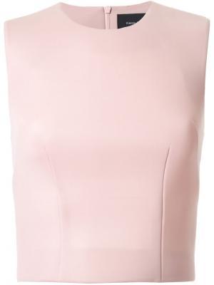 Укороченный топ Scuba Simone Rocha. Цвет: розовый и фиолетовый