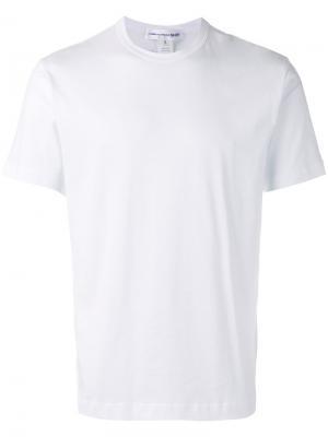 Back logo print T-shirt Comme Des Garçons Shirt. Цвет: белый