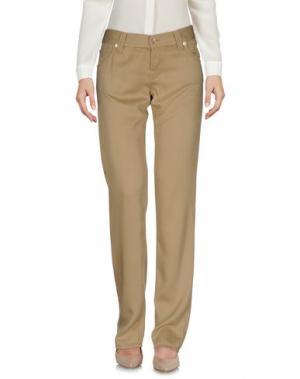 Повседневные брюки NOLITA DE NIMES. Цвет: хаки