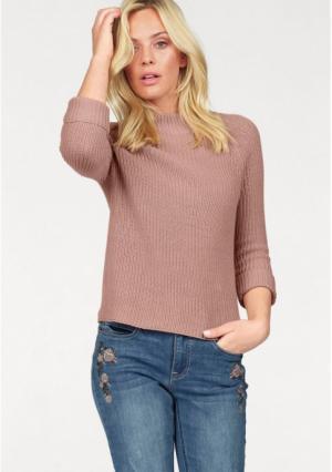 Пуловер Arizona. Цвет: пудрово-розовый