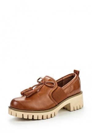 Туфли Mixfeel. Цвет: коричневый