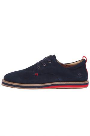 Ботинки UN1TA. Цвет: синий