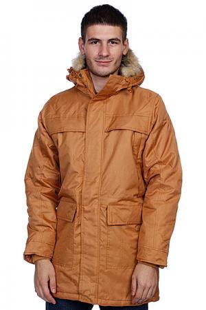 Куртка парка  Winter Parka Timberland Urban Classics. Цвет: желтый