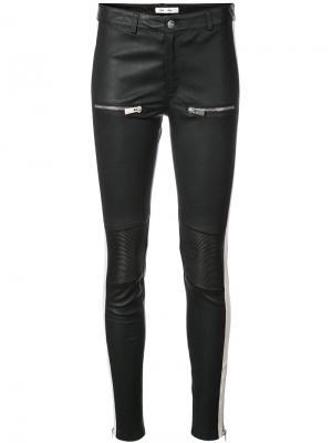 Узкие брюки Anine Bing. Цвет: чёрный