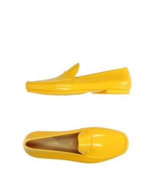 Мокасины CESARE PACIOTTI. Цвет: желтый