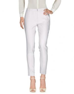 Повседневные брюки AQUILANO-RIMONDI. Цвет: светло-серый