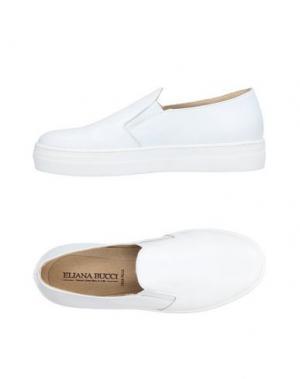Низкие кеды и кроссовки ELIANA BUCCI. Цвет: белый