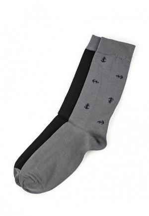 Комплект носков 2 пары Dockers. Цвет: разноцветный