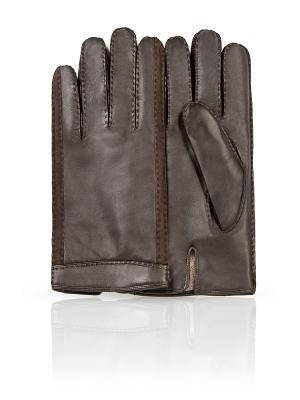 Перчатки Dali Exclusive. Цвет: серый, темно-серый, бронзовый