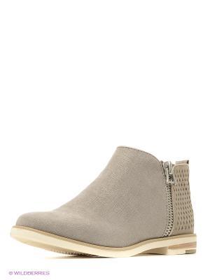 Ботинки Marco Tozzi. Цвет: серый