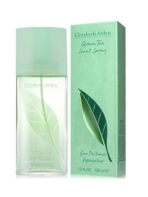 Парфюмерная вода Green Tea ELIZABETH ARDEN. Цвет: бирюзовый