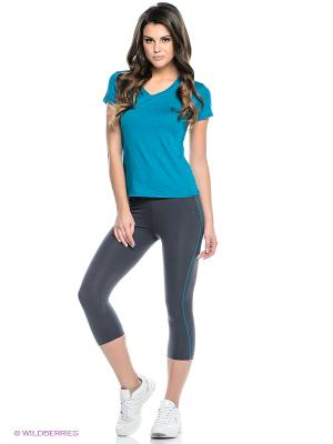Комплект брюки WR.UP SHAPING EFFECT, футболка Freddy. Цвет: морская волна