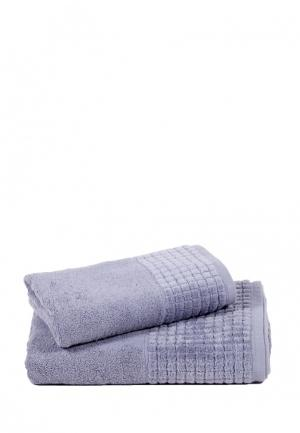 Комплект полотенец 2 шт. Bellehome. Цвет: серый