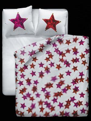 Комплект постельного белья Симачев. Цвет: белый