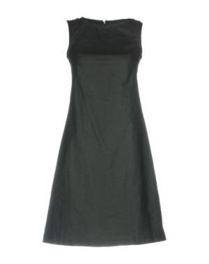Короткое платье MAISON LAVINIATURRA. Цвет: черный