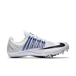 Шиповки унисекс для бега на короткие дистанции (спринт)  Zoom Celar 5 Nike. Цвет: белый