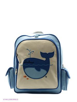 Рюкзак Beatrix NY. Цвет: белый, синий, голубой