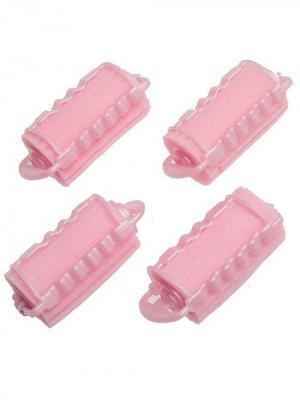 Набор бигудей для волос City Flash. Цвет: розовый