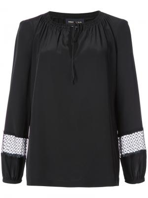 Drawstring neck blouse Vanessa Seward. Цвет: чёрный