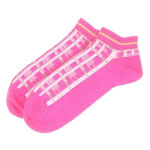 Носки низкие женские  Socks 2-pack Pink Converse. Цвет: розовый