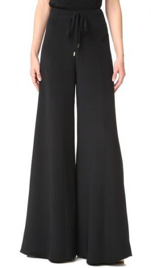 Сильно расклешенные брюки Cushnie Et Ochs. Цвет: голубой