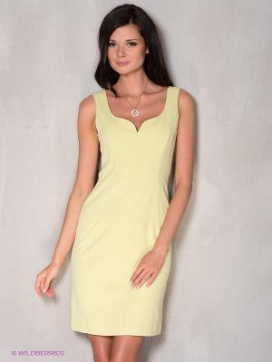 Платье Coccapani. Цвет: оливковый
