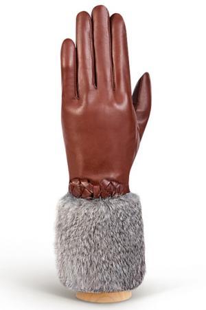 Перчатки Eleganzza. Цвет: рыже-коричневый