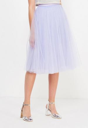 Юбка T-Skirt. Цвет: фиолетовый