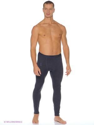 Термобелье - брюки Bergans. Цвет: темно-синий
