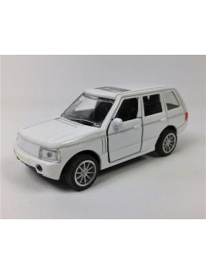 Машинка инерционная Азбука Тойс. Цвет: белый