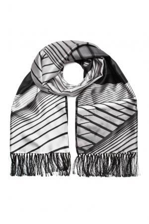Шелковый шарф-кашне 159460 Zilli. Цвет: разноцветный