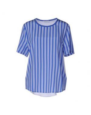 Блузка EQUIPMENT FEMME. Цвет: синий