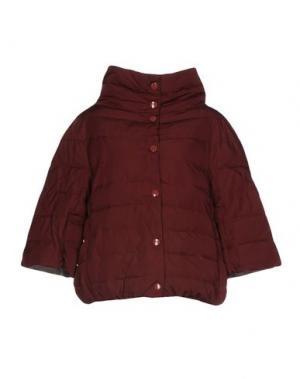Куртка BINI Como. Цвет: красно-коричневый