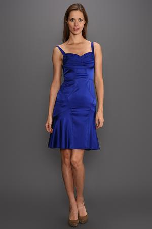 Платье Zac Posen. Цвет: синий