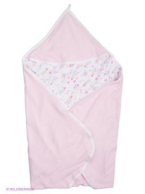 Пеленка Сонный гномик. Цвет: розовый, белый