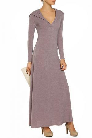 Платье с капюшоном Ангора Alina Assi. Цвет: бежевый