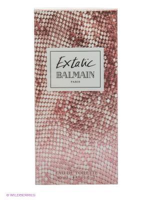 Парфюмерная вода balmain extatic edt spray 90 ml. Цвет: коричневый