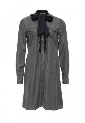 Платье Fornarina. Цвет: серый