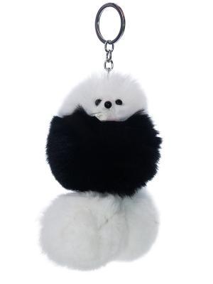 Брелок - подвеска Собачка Castlelady. Цвет: черный, антрацитовый, белый