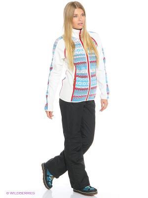 Куртка CMP. Цвет: белый, голубой