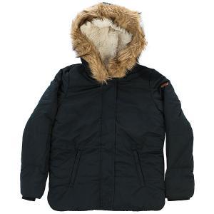 Куртка зимняя детская  Evergreentre G Jckt Anthracite Roxy. Цвет: черный