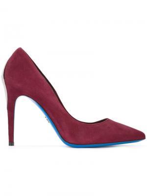 Pointed toe pumps Loriblu. Цвет: розовый и фиолетовый