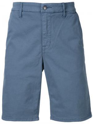 Шорты-чинос до колена Joes Jeans Joe's. Цвет: синий