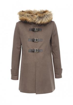Пальто Envie de Fraise. Цвет: бежевый