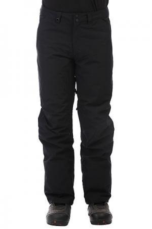 Штаны сноубордические  Estate Black Quiksilver. Цвет: черный
